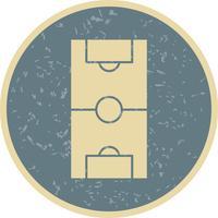 Fußballplatz-Vektor-Symbol