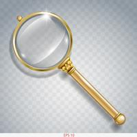 Magnifier for information search of gold