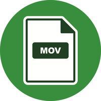 MOV Vector Icon