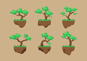 Tree Clipart Set Vector