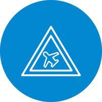 Vektor-Luftfeld-Symbol