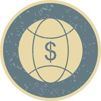 World Money Vector Icon