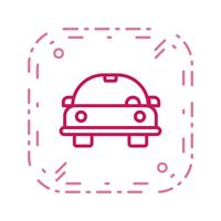 Cartoon auto Vector Icon
