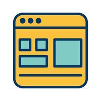 Sjabloon Vector pictogram