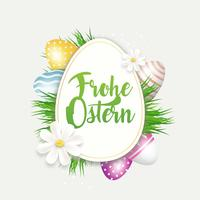 Frohe Ostern Salutations
