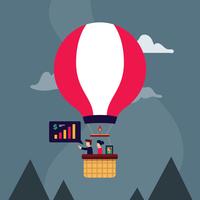 Objectifs d'entreprise vecteur
