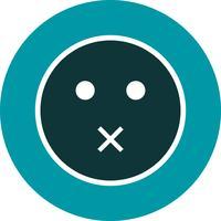 Dempen Emoji Vector Icon