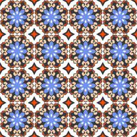 Arabisk sömlös mönster bakgrund