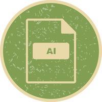 AI Vector Icon