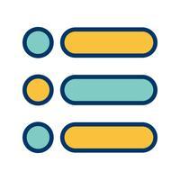 List Vector Icon