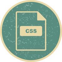 Icona di vettore CSS