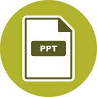 PPT Vector Icon