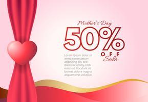 Venda de dia das mães feliz