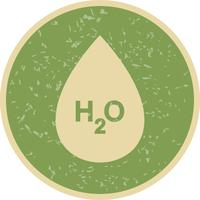 H2O Vector-pictogram