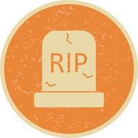 Icona di vettore di tomba