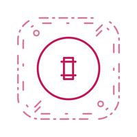 cricket grond vector pictogram