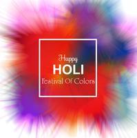 Feliz Holi festival celebración colorido fondo
