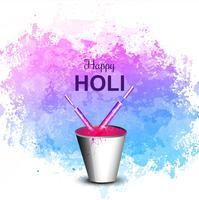 Fondo de celebración colorida festival Holi