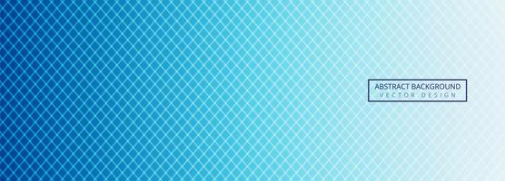 Modern blue geometric lines header template