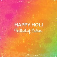 Festival des farben glücklichen holi Feierkartenvektors