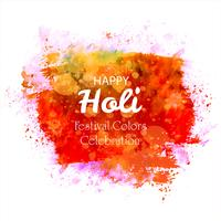 Indian festival Happy Holi celebrations with colors