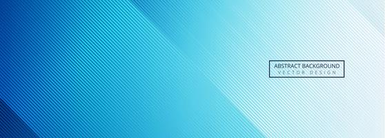Beautiful shiny blue lines banner design vector