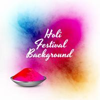 Abstract colorful celebration happy holi background