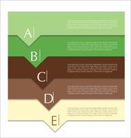 Modern design abstract template
