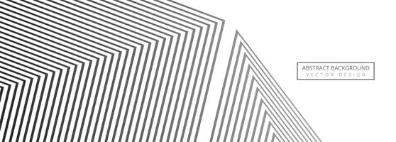 Abstrakt geometrisk banner mall design