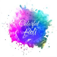Celebrate festival Colorful Holi Background