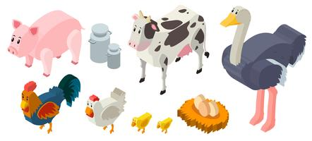 3D design for farm animals