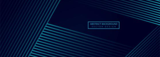 Beautiful creative geometric banner vector