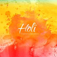 Happy Holi on abstract colorful splash background