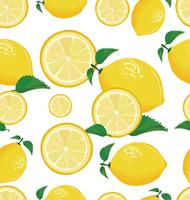Fond transparent au citron