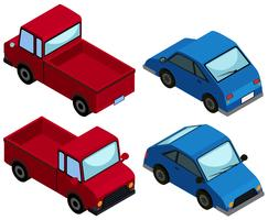 Diseño 3D para camiones y coches.