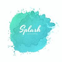 Soft colorful watercolor splash design