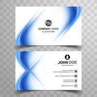 Elegant creative business card set template design vector