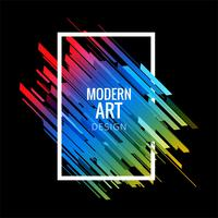 Modern geometric colorful lines background
