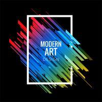 Moderne geometrische bunte Linien Hintergrund
