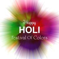 Beautiful gulal colorful background of holi festival vector