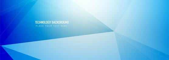 Abstract technology banner template vector