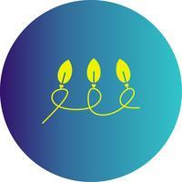 icône de lumières vectorielles
