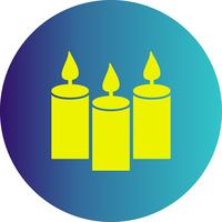 vector candles icon