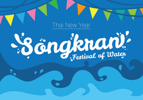 Festival de diseño de cartel de Songkran