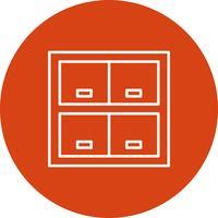 Vector locker pictogram