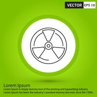 Perfeito ícone preto, vetor ou pictograma ilustração sobre fundo verde.