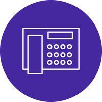 Icono de telefono vector
