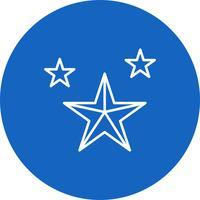 Icône d'étoiles de vecteur