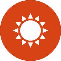 icono de vector sol