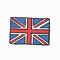 Flag of the United Kingdom illustration